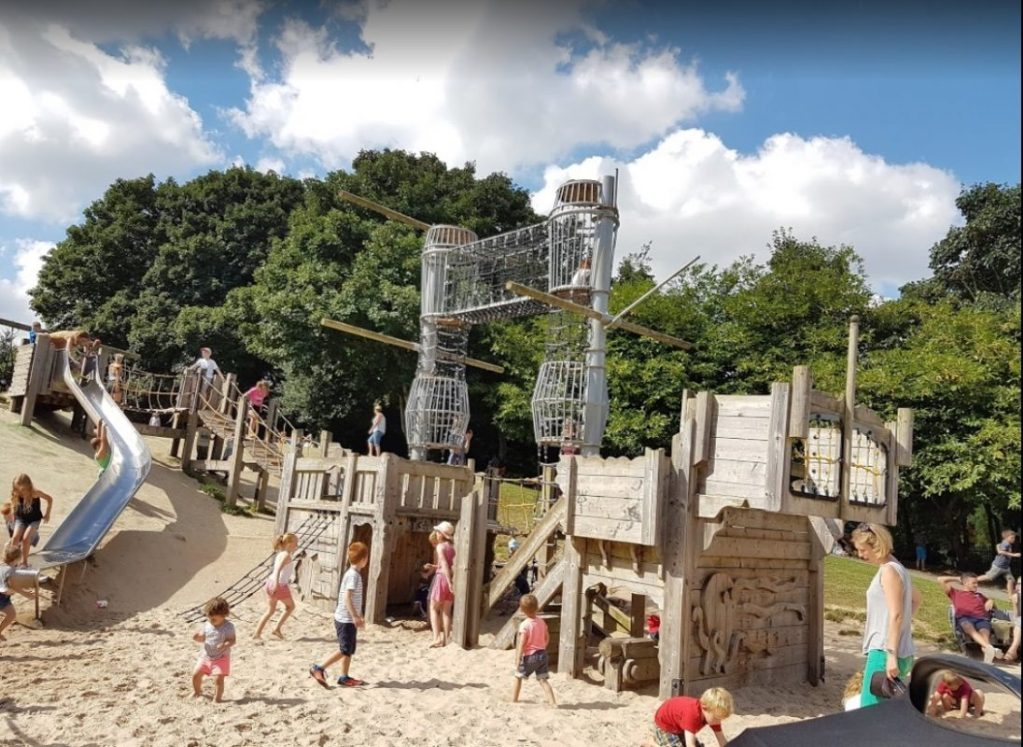 Oldbury Court Park Kid Playground Bristol