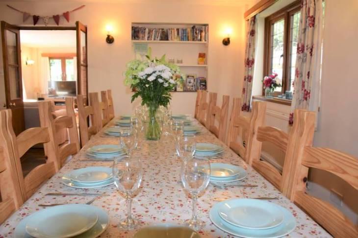 Bury Hill Farm Dining Room