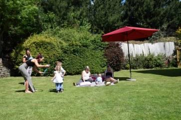 Bury Hill Farm Sunny Enclosed Garden