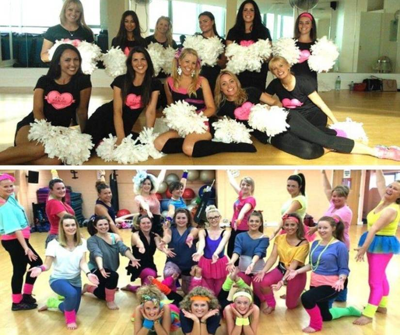 Cheerleading Company Hen Party