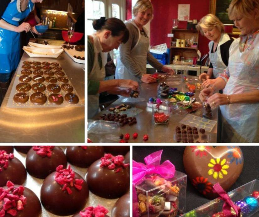 The Chocolate Tart Hen Party Classes Bristol
