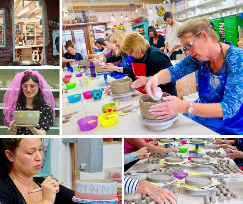 Pottery Class for Hen Party