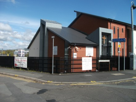 Front of church- Parsons Lane