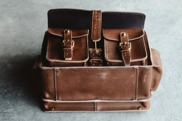 Marlondo Leather Wing Briefcase