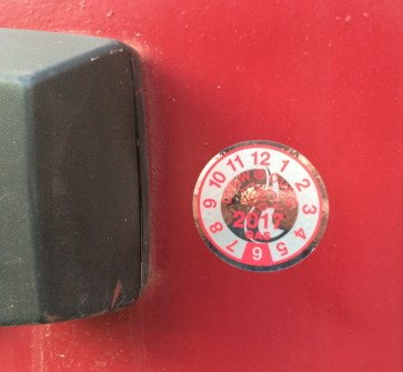 Tür Plakette - Der lang ersehnte Aufkleber