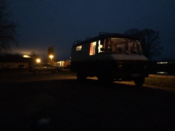 Heiligabend in Vandenesse-en-Auxois