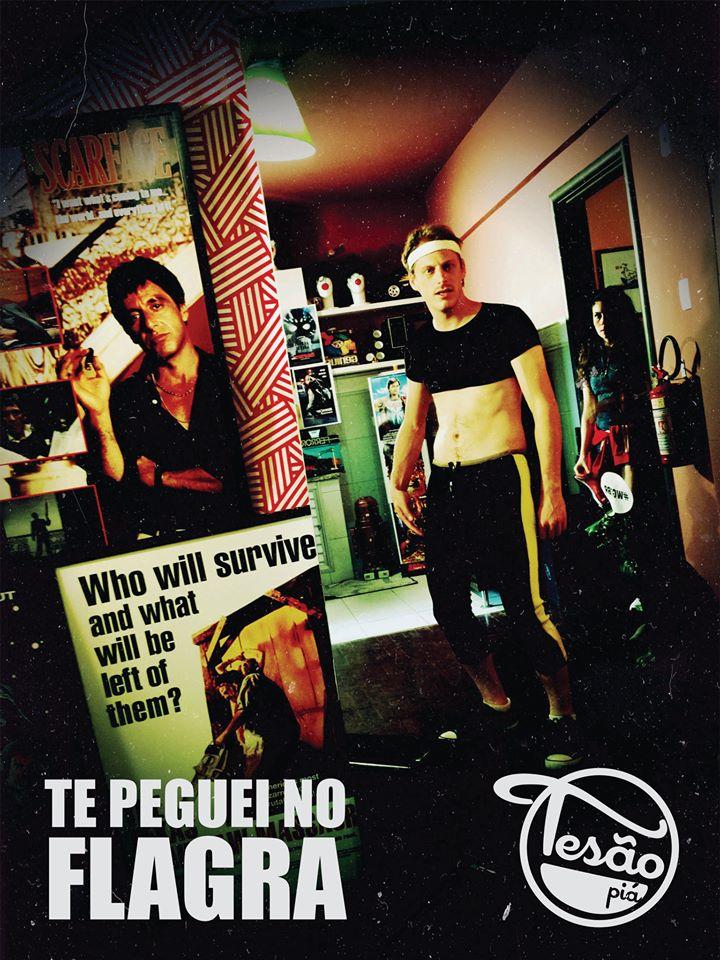TESÃO PIÁ - 80's (VERSÃO VHS)