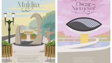 Curitiba em ilustrações