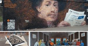 Lee más sobre el artículo Exibicion de Arte en Francia celebra el décimo aniversario de Bitcoin