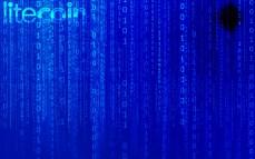 Eletric Blue Litecoin Wallpaper in HD