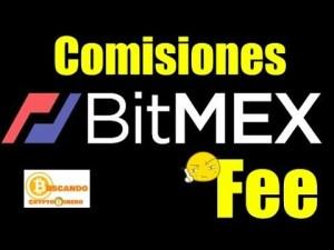 Lee más sobre el artículo Comisiones (Fees) con BITMEX Como operar?