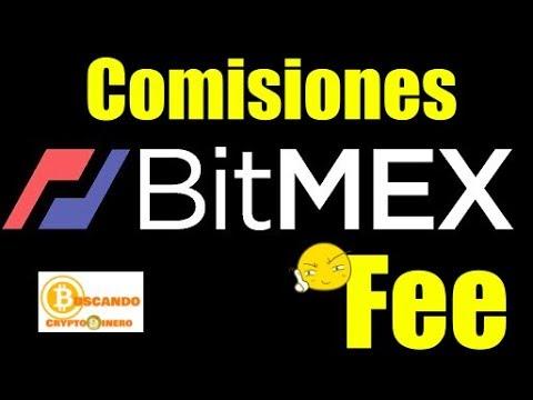 En este momento estás viendo Comisiones (Fees) con BITMEX Como operar?
