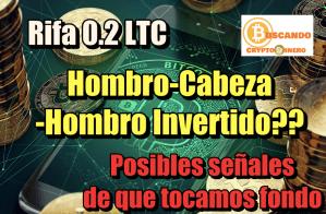 Lee más sobre el artículo Bitcoin toco fondo? Hombro Cabeza Hombro Invertido? Rifa 0 2 LTC