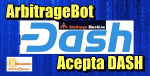 Lee más sobre el artículo ArbitrageBOT ahora ACEPTA DASH (52% de ganancia)