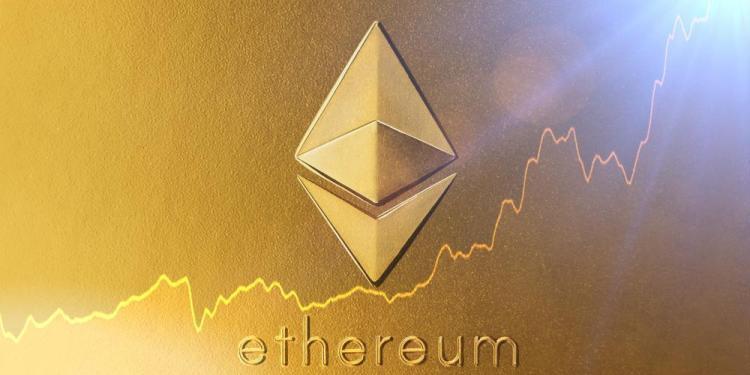 En este momento estás viendo Precio de Ethereum se dispara 11,5% y supera los USD 180