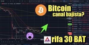 Lee más sobre el artículo Rifa 30 BAT + Bitcoin en canal bajista lo podra romper? + Crypto Noticias