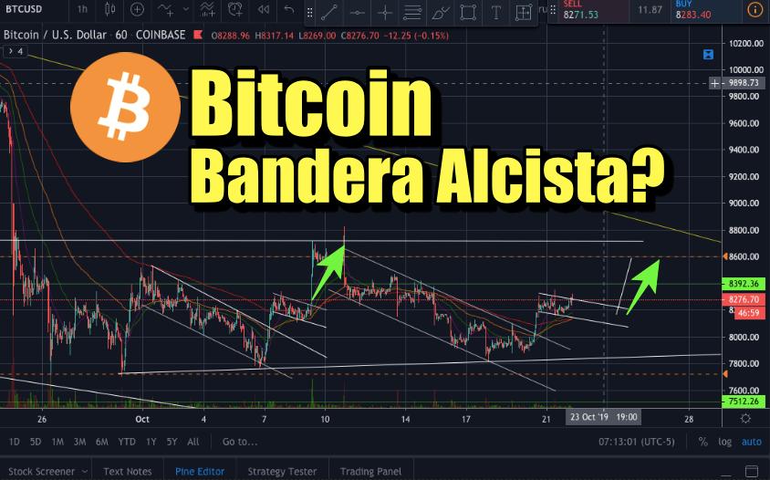 En este momento estás viendo Bitcoin Bandera alcista corto plazo?