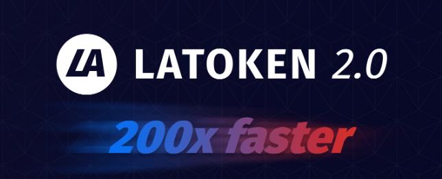 En este momento estás viendo LATOKEN 2.0 estará aquí la próxima semana: 200 veces más rápido