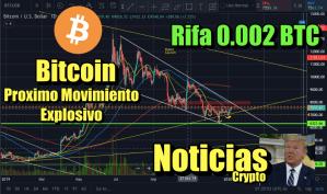 Lee más sobre el artículo Bitcoin Movimiento Explosivo proximamente + Importantes Noticias + Rifa de 0 002 BTC