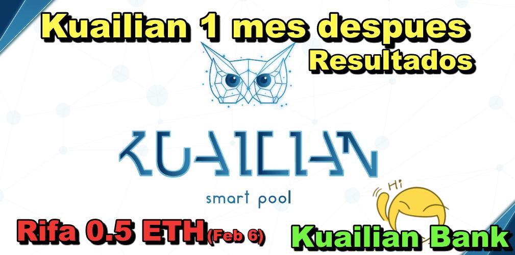 En este momento estás viendo Kuailian Bank Update de inversion + Proxima rifa de 0 5 ETH + Kuailian Bank