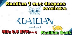 Lee más sobre el artículo Kuailian Bank Update de inversion + Proxima rifa de 0 5 ETH + Kuailian Bank