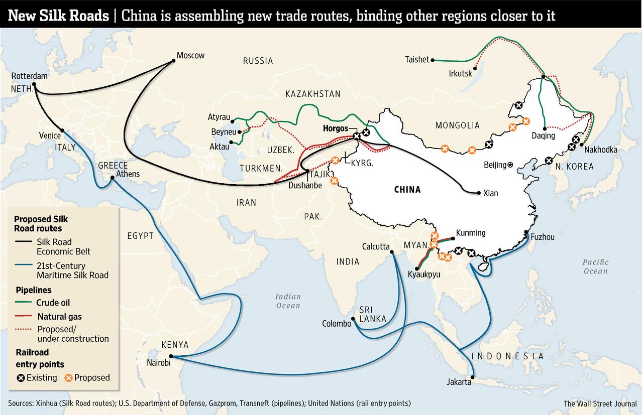 En este momento estás viendo La Nueva Ruta de la Seda, el gran plan estratégico de China