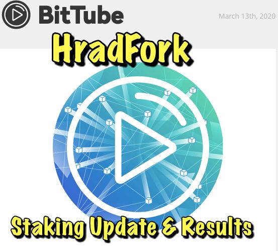 En este momento estás viendo BitTube proximo HardFork y actualizacion de mi staking despues de 10 meses