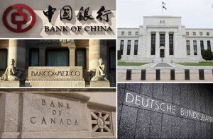 Lee más sobre el artículo Los principales bancos centrales del mundo compraron 1,4 billones de dólares en activos en marzo, 5 veces el último récord establecido después de la crisis financiera.