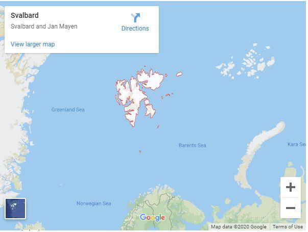 mapa polo
