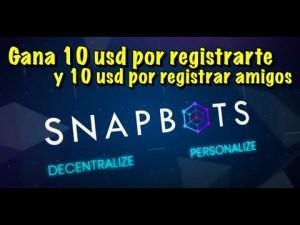 Lee más sobre el artículo SnapBot Gana 10 USD por reg y 10 USD por invitar personas (hasta Mayo 6). Completar KYC es requerido