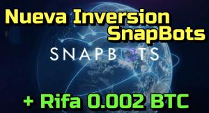 Lee más sobre el artículo SnapBots Inversion de BOTS con Inteligencia Artificial