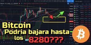 Lee más sobre el artículo Bitcoin podria bajar hasta los 8280 !!!