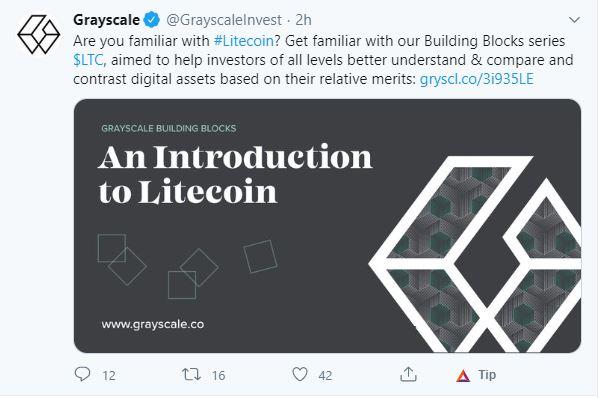 grayscale ahora con LTC