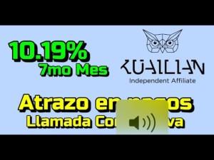Lee más sobre el artículo Kuailian Mes 7 con 10.19% !!!  Pagos atrazdos y resumen de llamada corporativa Kuailian !!