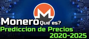 Lee más sobre el artículo MONERO (XMR) que es?? Prediccion de precios 2020-2025… me conviene invertir??