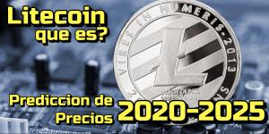 Lee más sobre el artículo LITECOIN (LTC) Que es?? Prediccion deprecios 2020-2025… Me conviene Invertir??