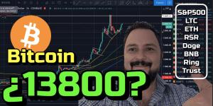 Lee más sobre el artículo Bitcoin romperemos los 13250 hoy?? + S&P500, LTC, ETH, RSR, Doge, BNB, Ring y Trust!!