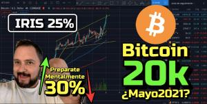 Lee más sobre el artículo Bitcoin Rompe los 20k en Mayo 2021???  + IRIS con 25% de subida !!!