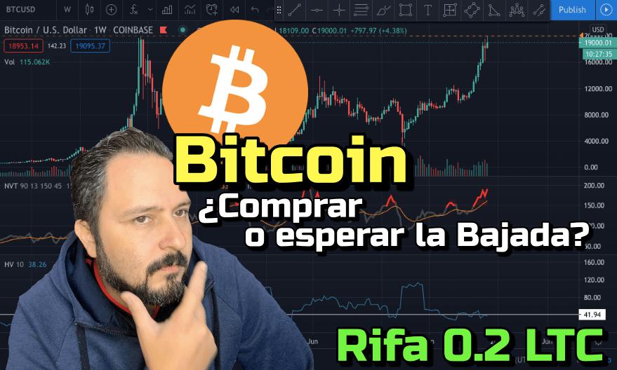 Lee más sobre el artículo Bitcoin ¿¿Comprar o esperar la fuerte bajada?? + Rifa de 0.2 LTC !!!