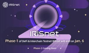 Lee más sobre el artículo La fase 1 de DeFi e interchain Testnet Bifrost de IRISnet finalizará el 6 de enero, seguida de la fase 2 con nuevas tareas incentivadas