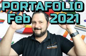 Lee más sobre el artículo PORTAFOLIO Febrero 2021 !!!  ⬆️ 51% !!! 🟢 Buen Mes