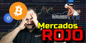 Lee más sobre el artículo 🔴 Mercados en ROJO    Se acabo?? + Bitcoin y 22 Altcoins + Rifa !! #miedo #crypto #ada