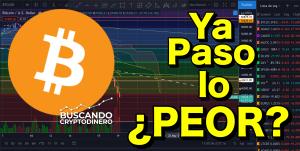 Lee más sobre el artículo 🔴 Bitcoin…  Ya paso lo PEOR???  (Youtube Live)