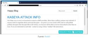 Lee más sobre el artículo REvil exige $70M en Bitcoin después del ataque ransomware