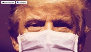 Lee más sobre el artículo Video viral de Trump recibiendo tratamiento de NFT, cortesía de The Recount