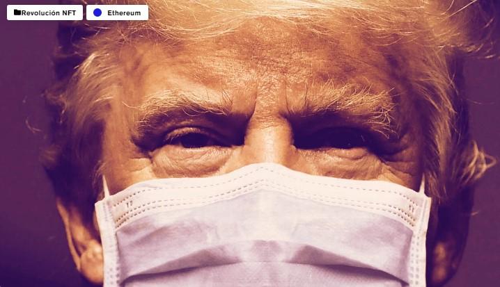 En este momento estás viendo Video viral de Trump recibiendo tratamiento de NFT, cortesía de The Recount