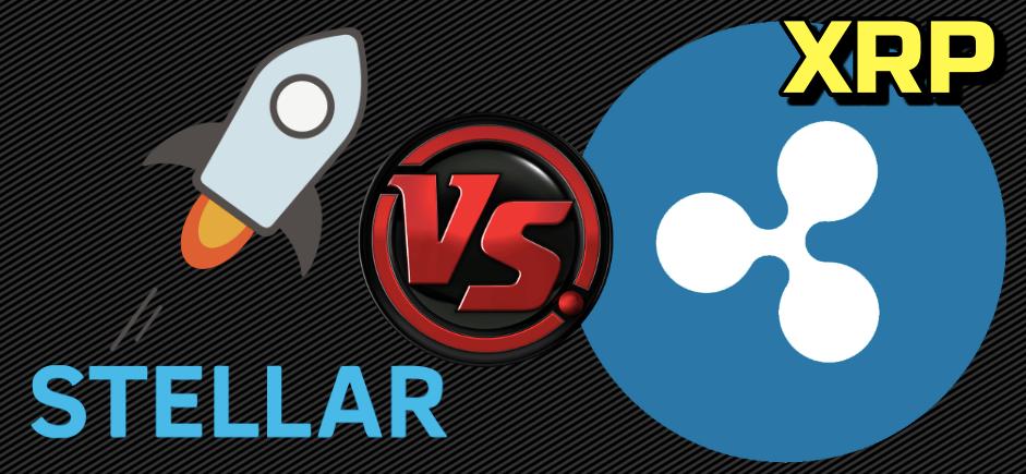 En este momento estás viendo Stellar 🆚 XRP 🥊 ¿Quien es mas confiable? XLM vs XRP