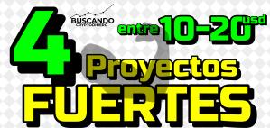 Lee más sobre el artículo 🟢 Los 4 Proyectos mas INTERESANTES entre 20-30 usd !!!