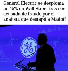 Lee más sobre el artículo GE Electric se desploma 15%
