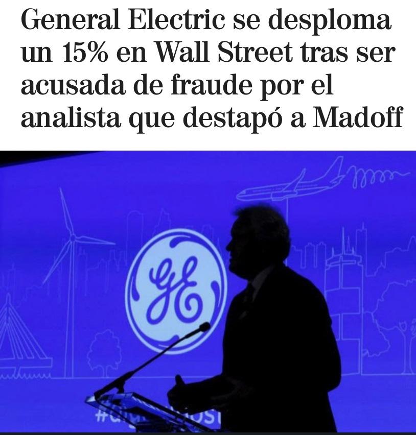 En este momento estás viendo GE Electric se desploma 15%
